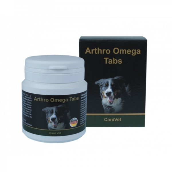 CaniVet Arthro Omega PLUS Tabs • jetzt neu mit Hyaluronsäure •